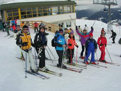 Gita sulla neve 2008
