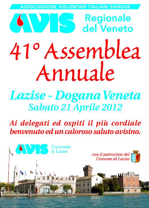 41 Assemblea Avis Regionale Veneto